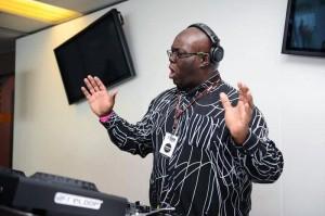 DJ G singing