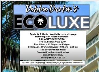 Ecoluxe Lounge Oscars 2019   Completed DJG played for the Hollywood A-List